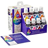 Wilton Color Right Performance Food Coloring Set, Achieve Consistent Colors for Icing, Fondant and Cake Batter, 8-Base Colors (Color: Assorted)