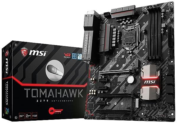 MSI Arsenal Gaming Intel Z270 DDR4 HDMI USB 3 CrossFire ATX Motherboard (Z270 TOMAHAWK) (Tamaño: ATX)