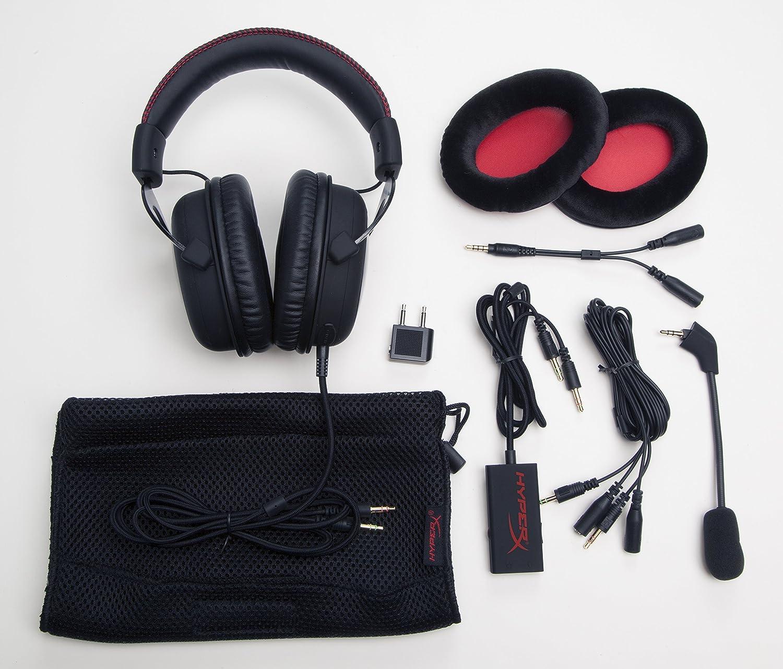 gaming headsets hyperx cloud vs hyperx cloud ii features. Black Bedroom Furniture Sets. Home Design Ideas