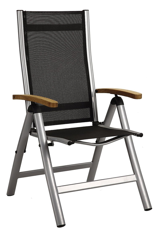 Dajar Sessel Macao 7-fach verstellbar, silber online kaufen