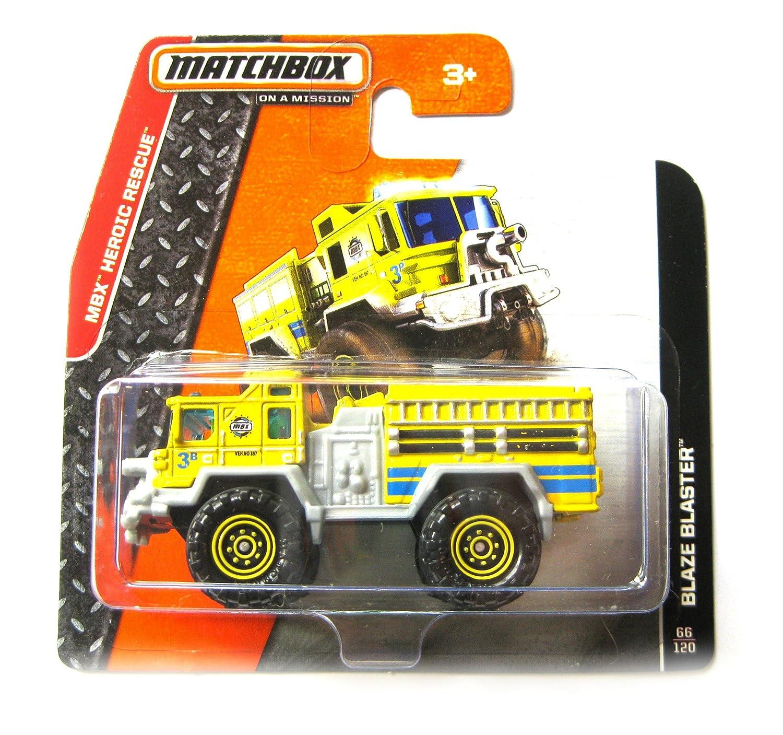 Matchbox Feuerwehr gelb – Blaze Blaster Fire Engine Truck – MBX Heroic Rescue günstig bestellen