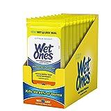 Wet Ones Citrus Antibacterial Hand Wipes, 20 Count (Pack Of 10) (Tamaño: 0)