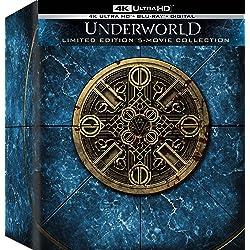 Underworld 2003 Underworld Awakening / Underworld Evolution / Underworld: Blood Wars / Underworld: Rise of the Lycans - Set [4K Ultra HD + Blu-ray]