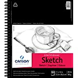 Canson Universal Sketch Pad, Side Wire Bound, 11