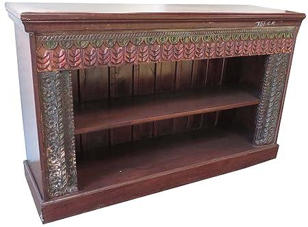 Offenes Sideboard, Bucherregal, Kommode, Massivholz Indien / Kommoden, Sideboards & Fernsehtische