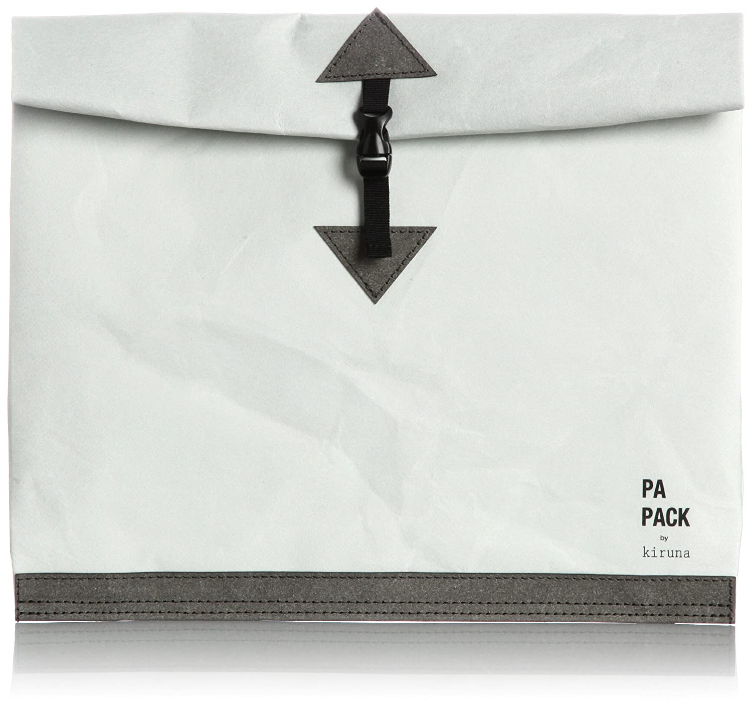 Amazon.co.jp: [ペーパックバイキルナ] PA-PACK by kiruna PA-PACK CLUTCH M 141-P0004M 灰 (灰): シューズ&バッグ:通販