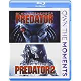 Predator / Predator 2 Double Feature Blu-ray (Color: color)