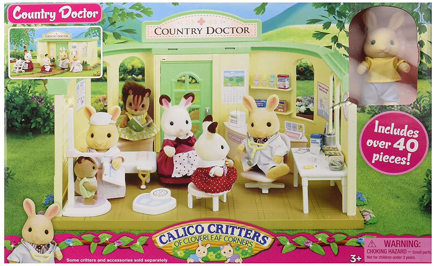 Calico Critters Country Doctor Playset