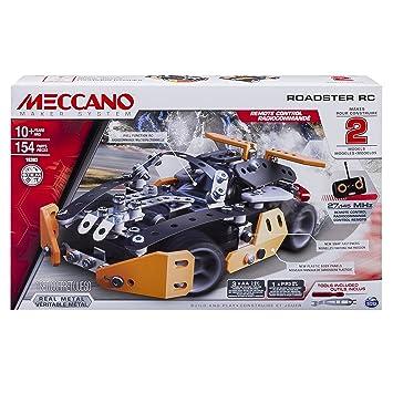 Meccano - 6028127 - Jeu de Construction - Roadster Radiocommandé