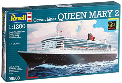 Revell - 65808 - Maquette - Model Set Queen Mary 2