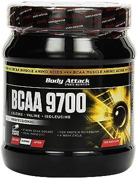 Body Attack BCAA 9700, 300 Kapseln, 1er Pack (1 x 380 g)