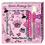 Diary For Girls - Journal Gifts Set For Kids Ages 6 And Over - Secret Diva Notebook With Passcode Lock - Blank, Lined Pages With Invisible Ink Pen and Blue Light For Her Secrets