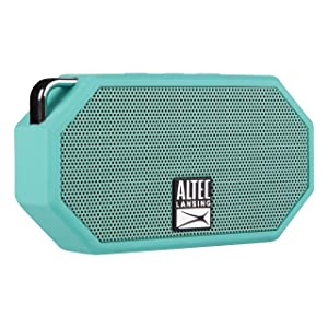 Altec Lansing IMW257-MT Mini H2O Wireless Bluetooth Waterproof Speaker, Floating IP67 Waterproof, Boat, Hiking, Golf Cart, Atv, Utv, Lightweight, 6-Hour Battery Life, (Mint) (Color: Mint)