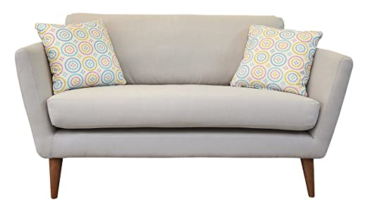 Fizz Nantucket Sofa, Fabric - Light Grey