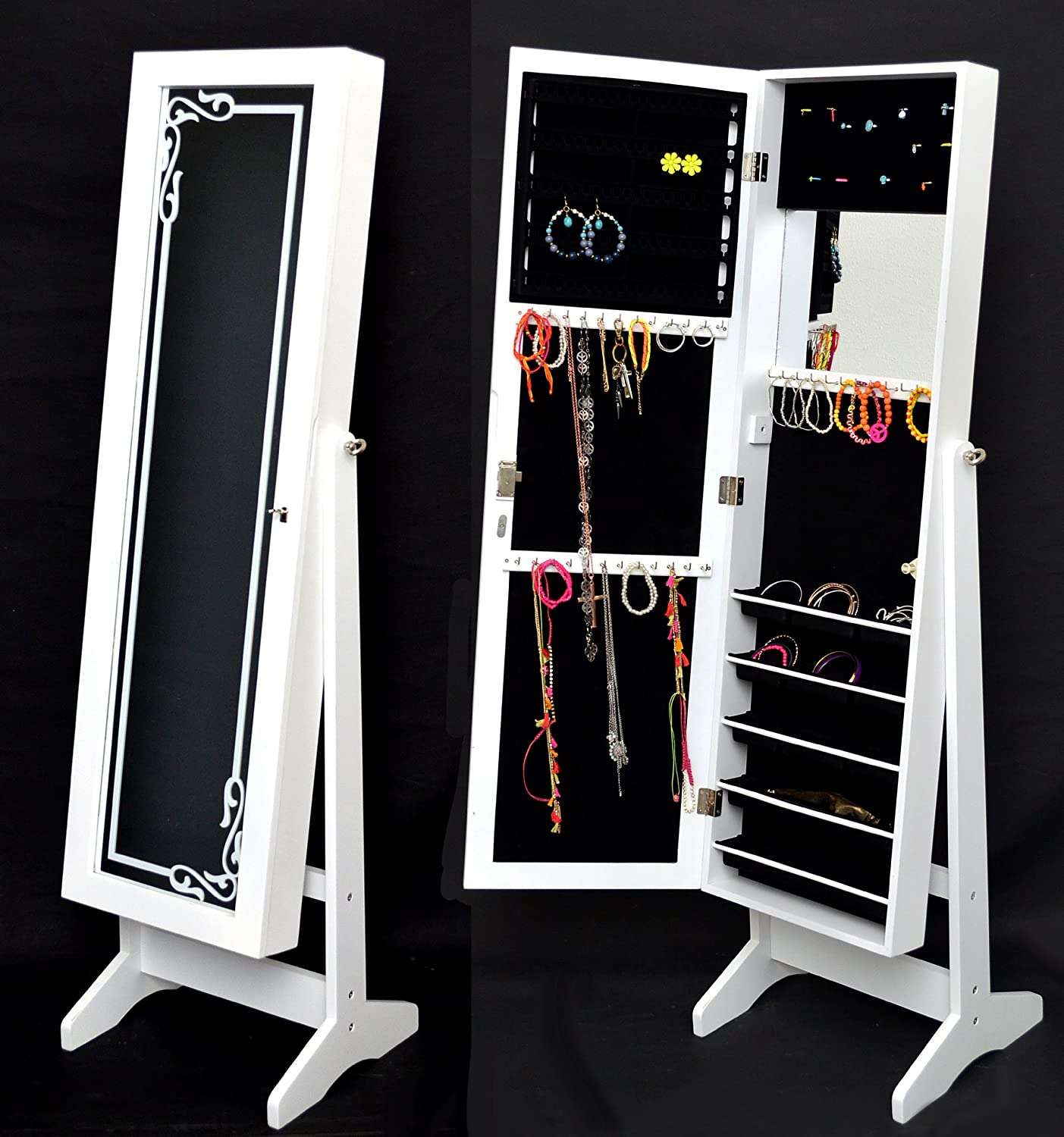 armoire a bijoux armoire bijou sur enperdresonlapin. Black Bedroom Furniture Sets. Home Design Ideas