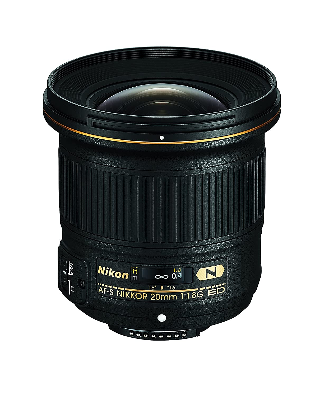 Nikon AF-S FX NIKKOR 20mm f/1.8G ED Fixed Zoom Lens with Auto Focus for Nikon DSLR Cameras