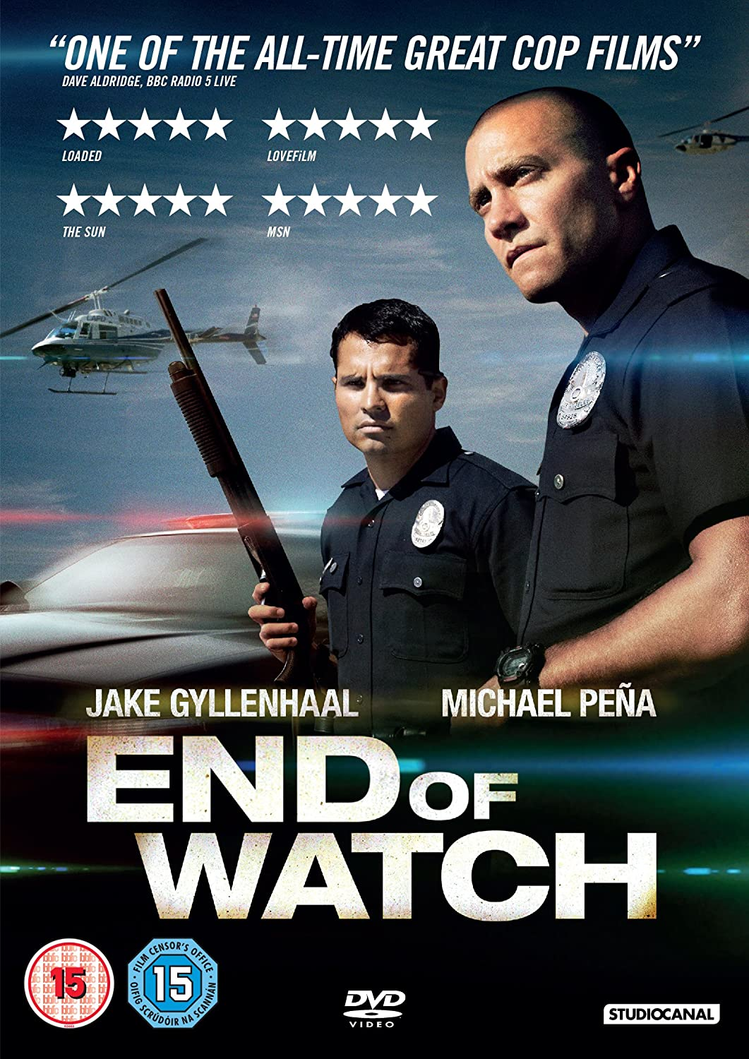 Sin tregua (End of Watch) ()