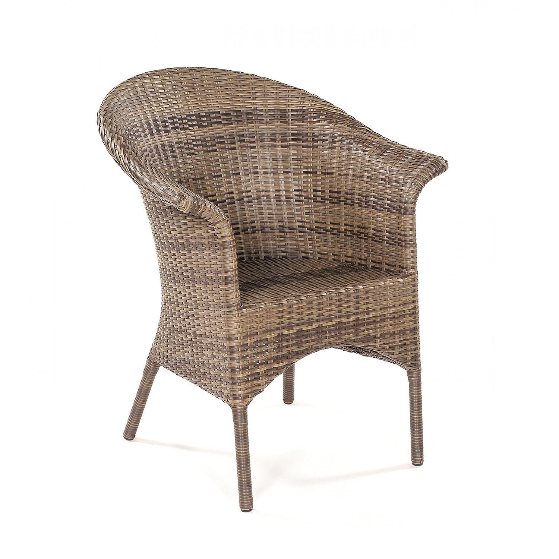 Sonnenpartner Gartenstuhl Sessel Modell Cayman cappuccino 80080075 jetzt bestellen