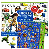 Disney Pixar Ultimate Sticker Activity Pad ~ Over 1000 Pixar Stickers Featuring Cars, Finding Nemo, Toy Story, Monsters Inc. and More!