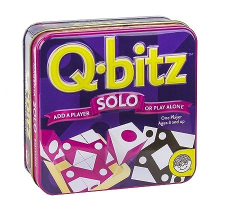 AmazonSmile: Q-Bitz Solo: Magenta Board Game Mindware: Toys & Games