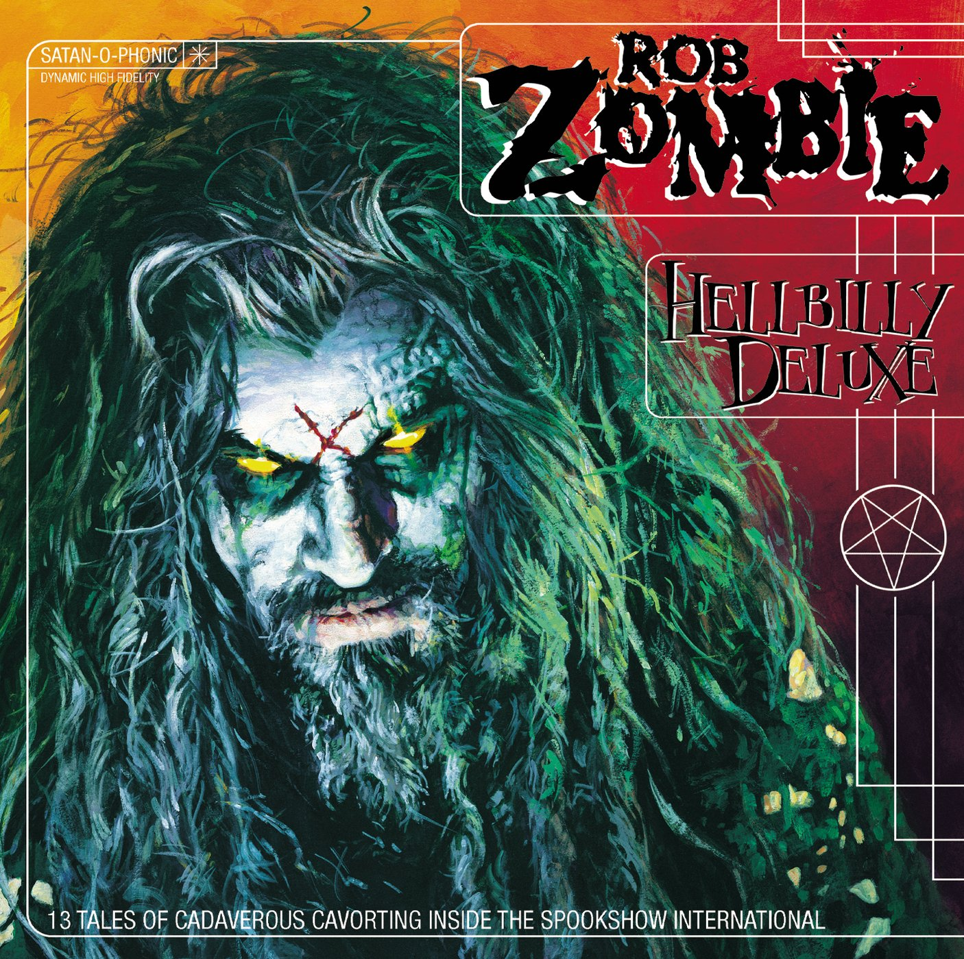 Rob Zombie Hellbilly Deluxe Album Art Rob Zombie Hellbilly Deluxe