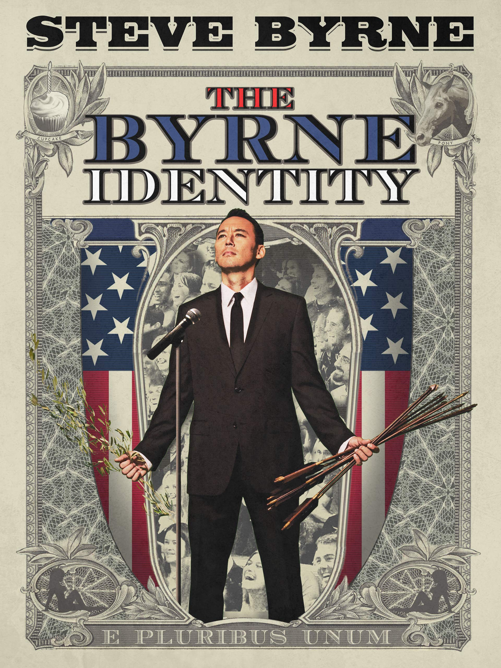 Steve Byrne: The Byrne Identity on Amazon Prime Video UK