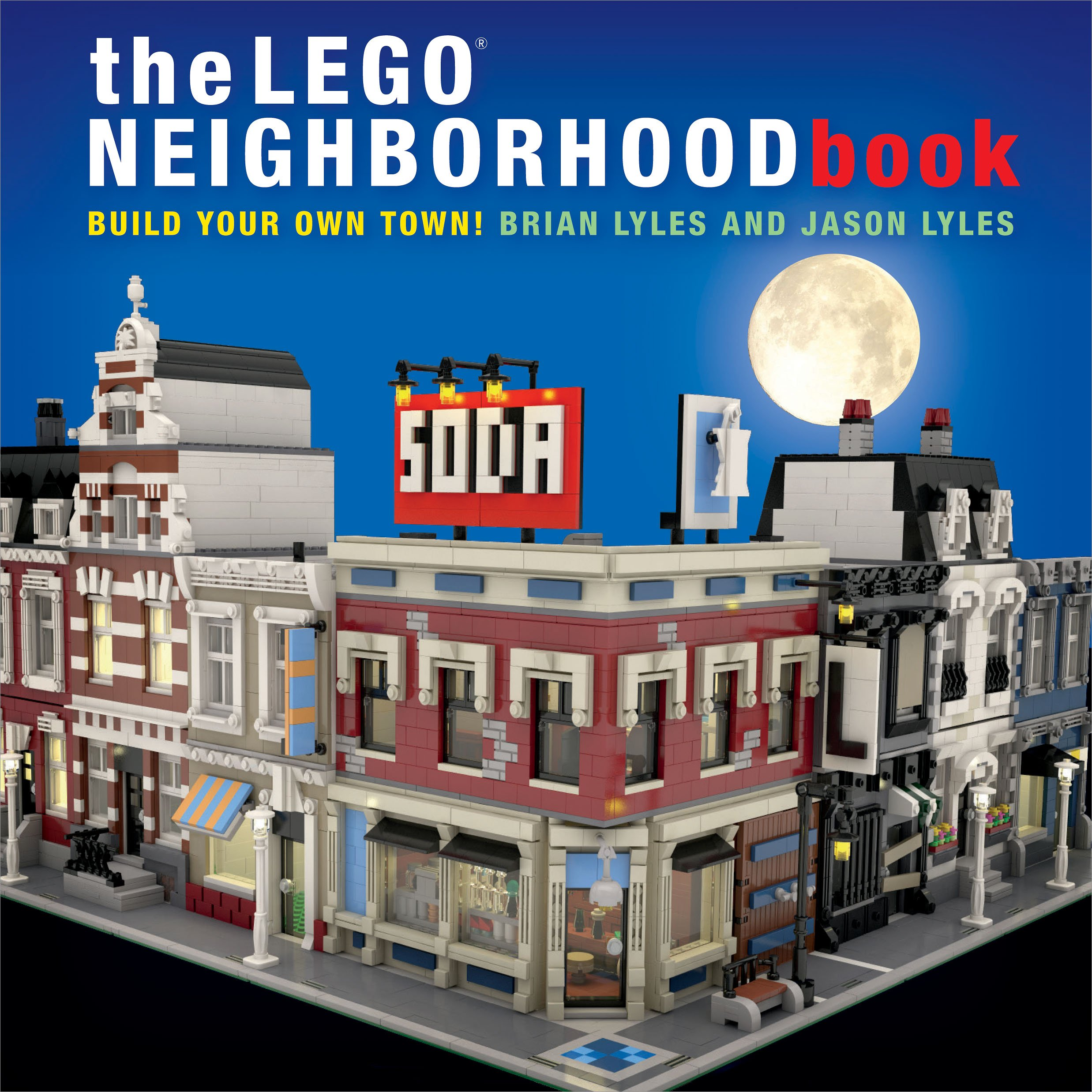 The Lego Neighborhood Book Review The Brick Fan