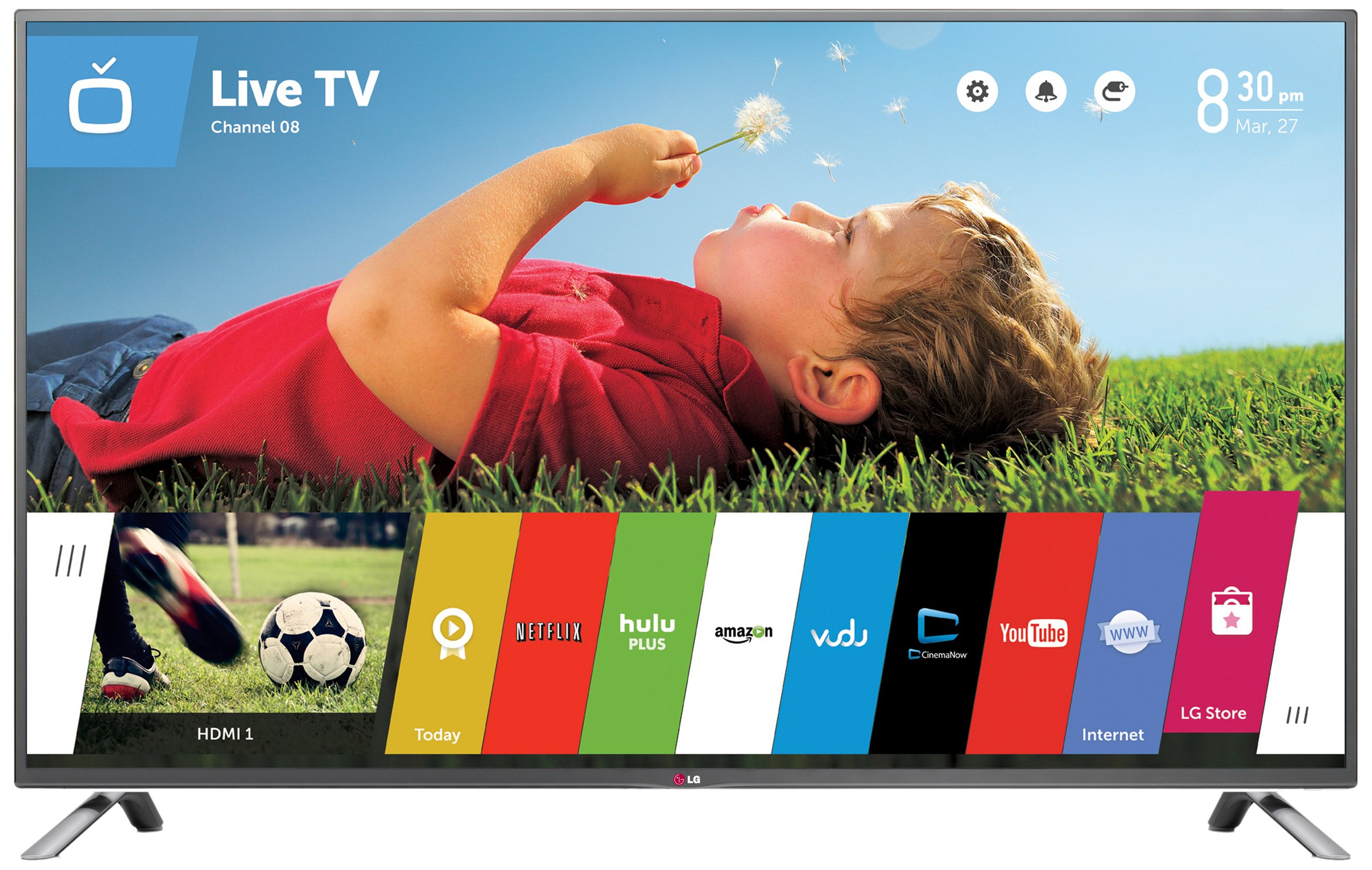 Smart LED TV: LG Electronics 60LB7100 60-Inch 1080p
