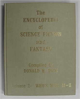 Encyclopedia of Science Fiction and Fantasy Through 1968: M-Z written by Donald Henry Tuck