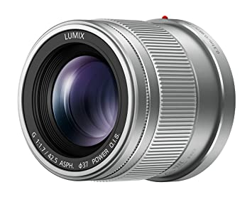 Panasonic 42.5  / F 1.7 Lumix G Power OIS ASPH (H-HS043) Objectifs 42.5 mm