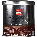Illy iperEspresso MonoArabica Guatemala Capsules Medium-bodied Coffee, 21-Count Capsules (Tamaño: 21 Count)