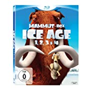 Post image for Ice Age Teil 1-4 Mammut-Box [Blu-ray] für 27€