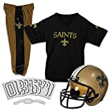 Franklin Sports NFL New Orleans Saints Deluxe Youth Uniform Set, Small