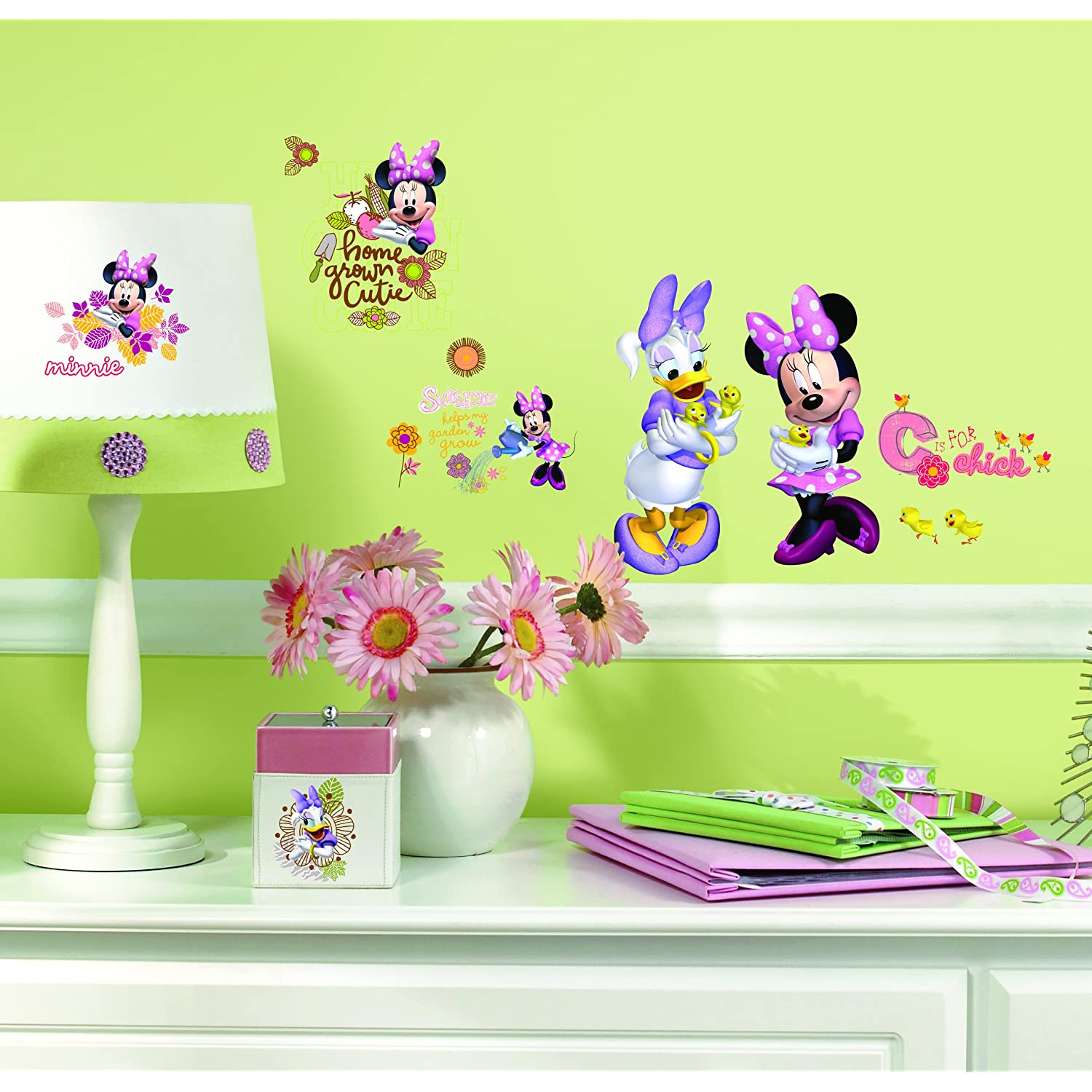 Cute Minnie Mouse Wall Stickers
