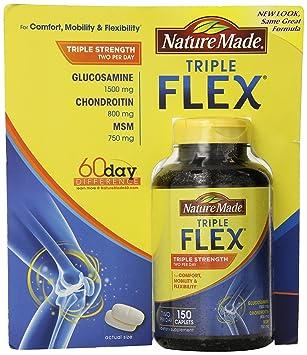 Nature Made Triple Flex Mit Glucosamin, Chondroitin, Msm - 150 Kapseln