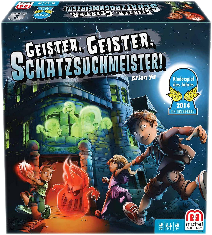 Mattel Y2554 - Geister Geister Schatzsuchmeister,