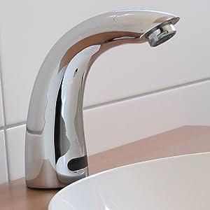 Sensor Wasserhahn Kaltwasser / Anschlussfertiges Komplettpaket incl. Batterien  BaumarktKritiken und weitere Informationen