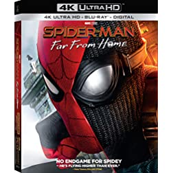 Spider-Man: Far from Home [4K Ultra HD + Blu-ray]