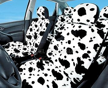 Schwarz-rot Effekt 3D Sitzbezüge für PEUGEOT 108 Autositzbezug VORNE