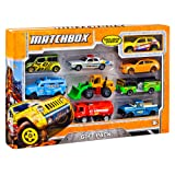 Matchbox 9-Car Gift Pack (Styles May Vary) (Color: Other, Tamaño: One Size)