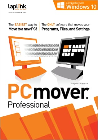 Laplink PCmover Professional 10 - 1 Use [Download]