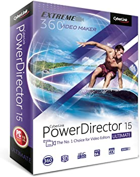 CyberLink PowerDirector 15 Ultimate Software