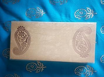 Pack of 25 Designer Money Gift Envelopes for Wedding: Amazon.in ...