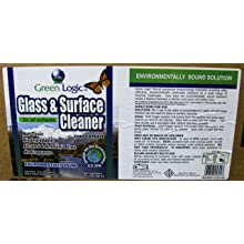 Green Logic GLGC-32C 32 Oz. Ammonia Free Glass & Surface Concentrated Cleaner (Case of 12)