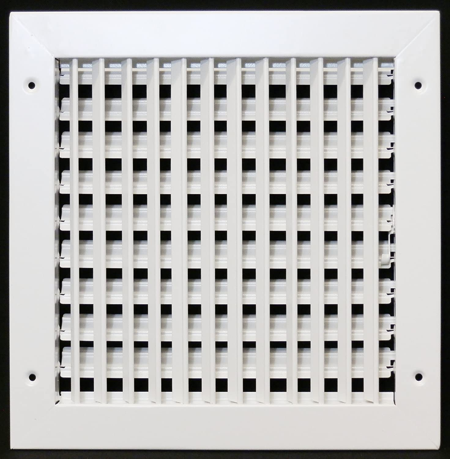 #4B4A5B 10 X 10 ADJUSTABLE AIR SUPPLY DIIFFUSER HVAC Vent Duct  Best 3573 Heating Duct Covers photos with 1471x1500 px on helpvideos.info - Air Conditioners, Air Coolers and more