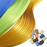 IMISNO Metallic Quilling Paper Set 5mm Width 780 Strips (13 Colors 54cm Length) (Color: Mix, Tamaño: 5mmx53cm)