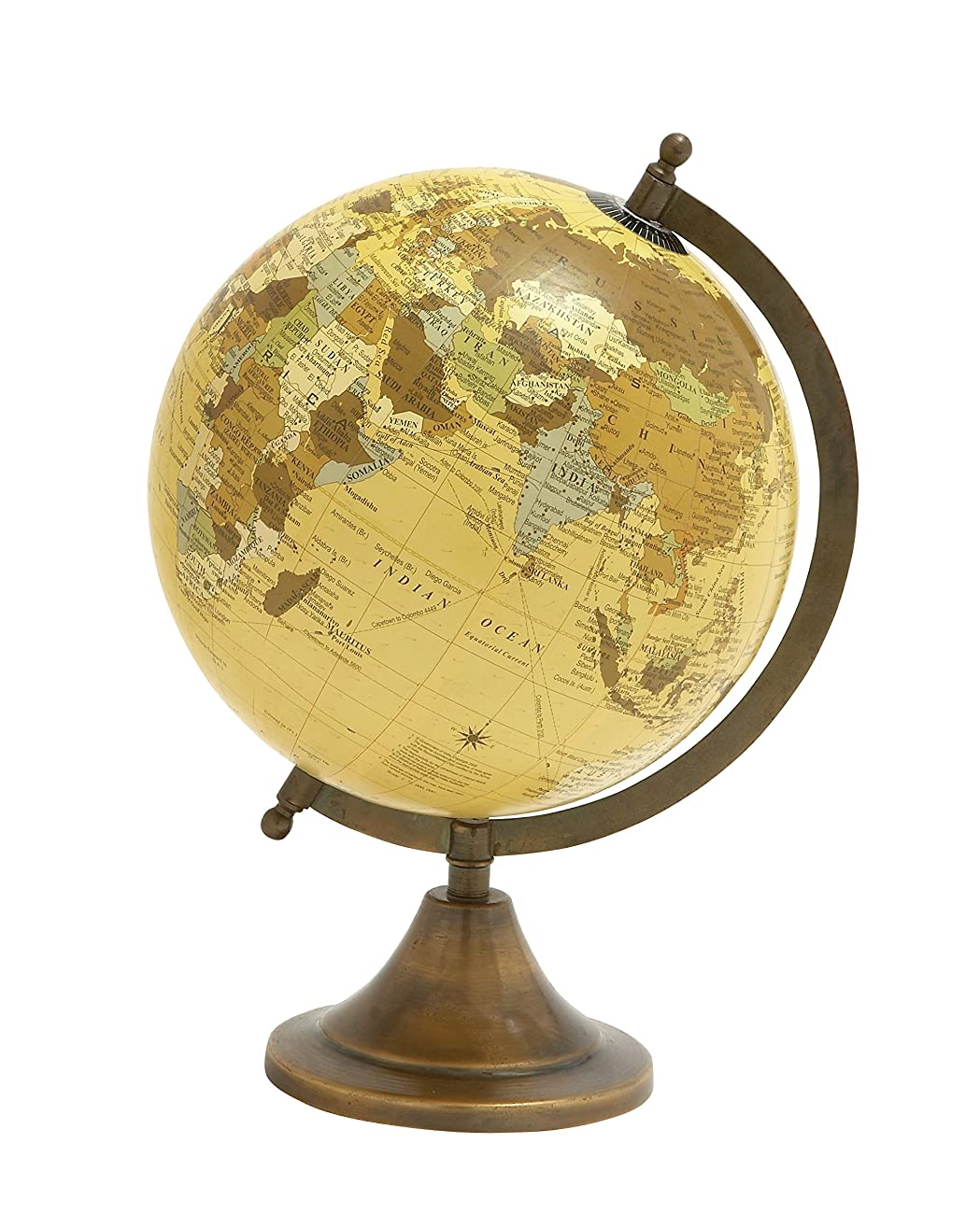 Deco 79 24480 Aluminum PVC Globe, 9