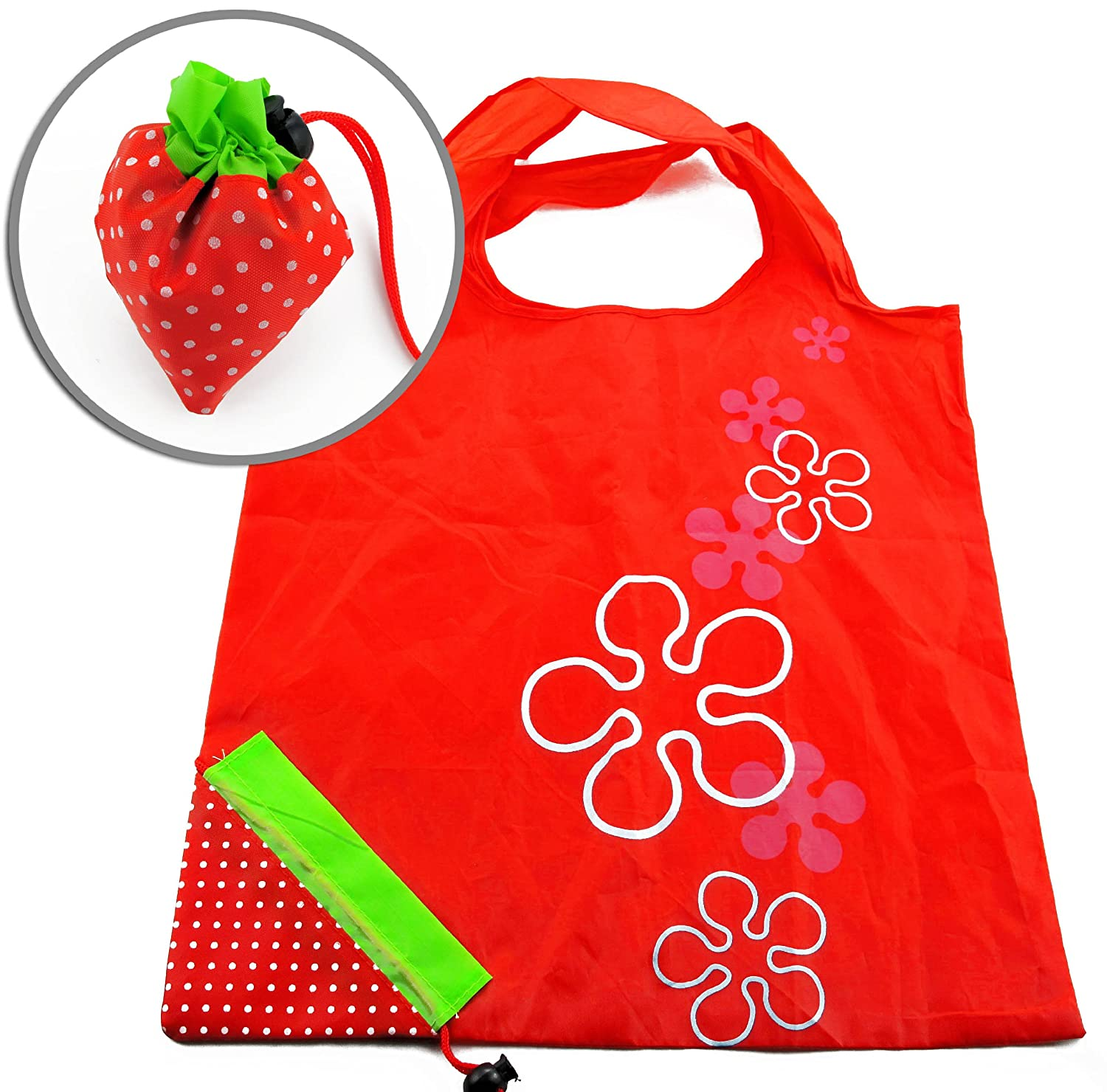 Strawberry Reusable Tote Bag