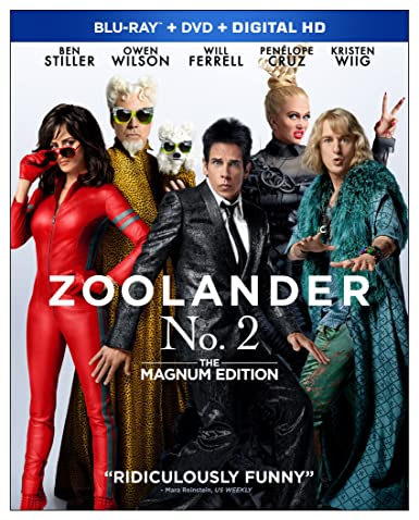 Zoolander No. 2: The Magnum Edition [Blu-ray]