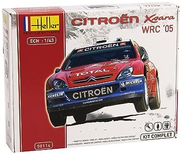 Heller - 50114 - Maquette - Citroën XSARA WRC05 Rallye de Turquie - Echelle 1:43